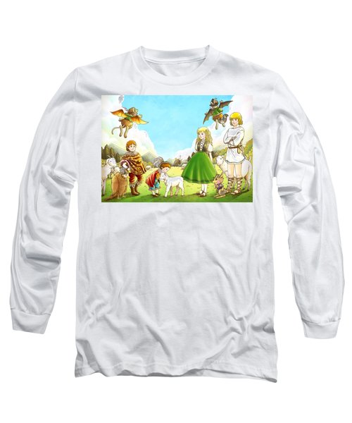 Prince Henry And Prince Richard Long Sleeve T-Shirt by Reynold Jay