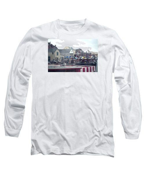 Long Sleeve T-Shirt featuring the photograph Nor' Easter At Portsmouth by Richard Ortolano