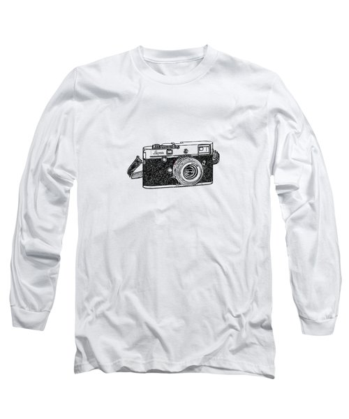 Rangefinder Camera Long Sleeve T-Shirt by Setsiri Silapasuwanchai