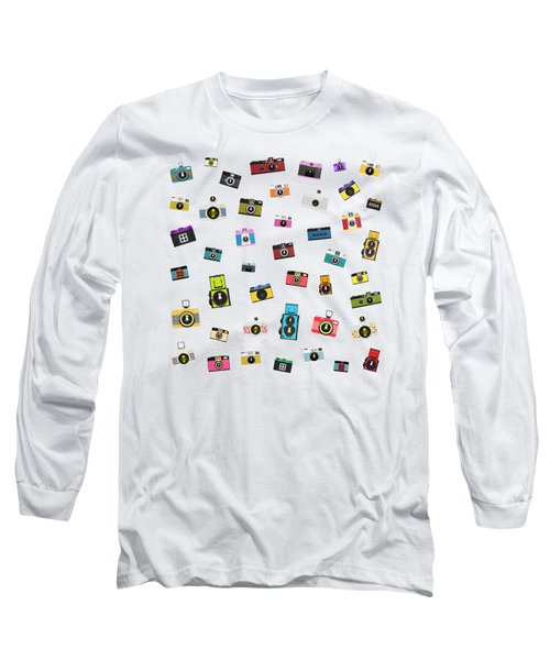 Retro Camera Long Sleeve T-Shirt