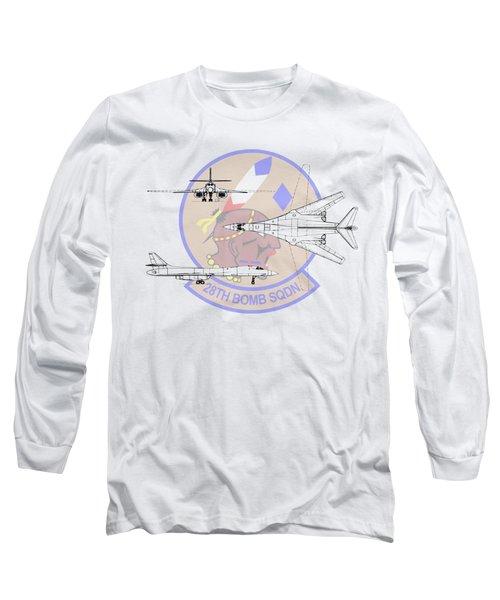 Rockwell B-1b Lancer Long Sleeve T-Shirt by Arthur Eggers
