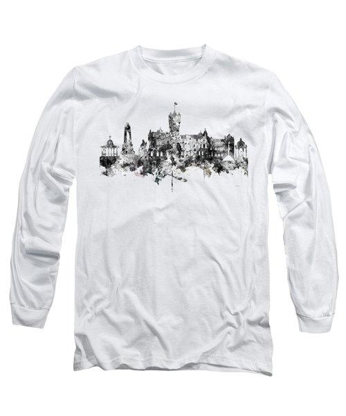 Rutherglen Scotland Skyline Long Sleeve T-Shirt