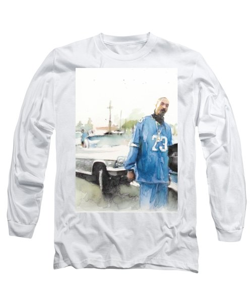 Snoop Detail Long Sleeve T-Shirt by Jani Heinonen