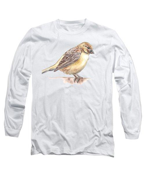 Sparrow Long Sleeve T-Shirt by Katerina Kirilova