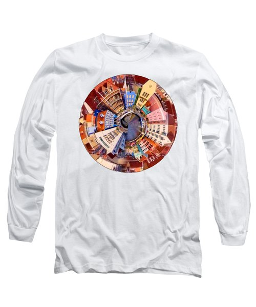 Long Sleeve T-Shirt featuring the photograph Spin City T-shirt by Kathy Kelly