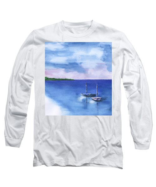 2 Still Boats Long Sleeve T-Shirt
