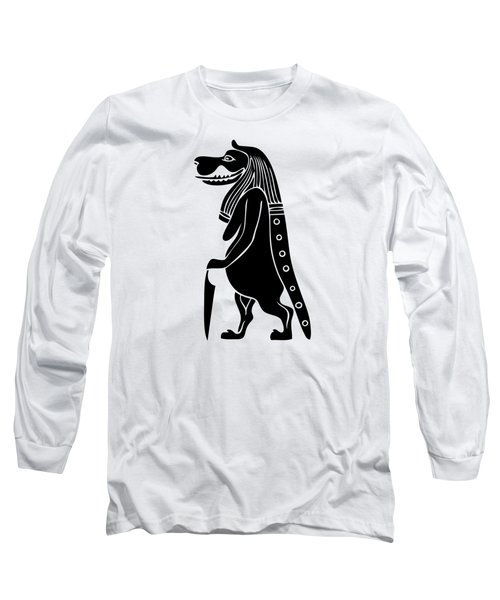 Long Sleeve T-Shirt featuring the photograph Taweret - Mythical Creature Of Ancient Egypt by Michal Boubin
