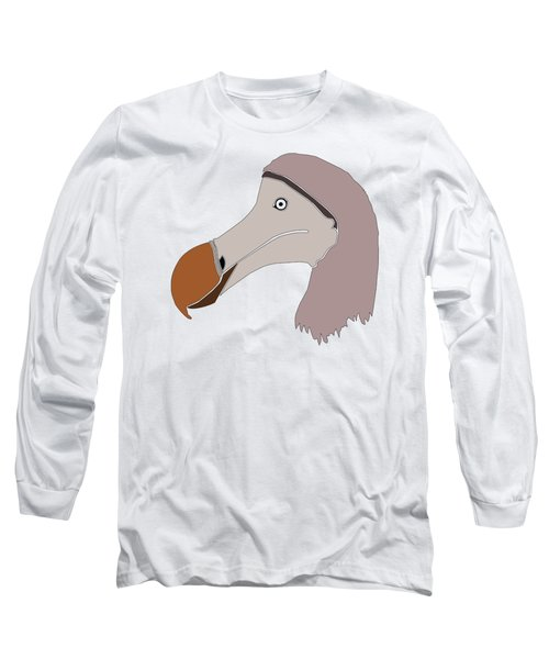 The Extinction Club - Dodo Long Sleeve T-Shirt by Marcus England