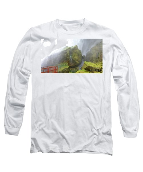 Long Sleeve T-Shirt featuring the photograph Water Path by Raymond Earley