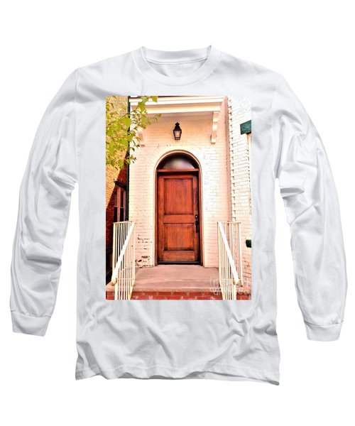 Long Sleeve T-Shirt featuring the photograph Welcome Home by Becky Lupe