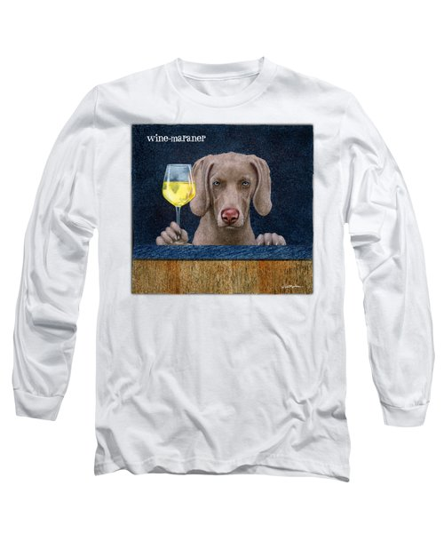Wine-maraner Long Sleeve T-Shirt