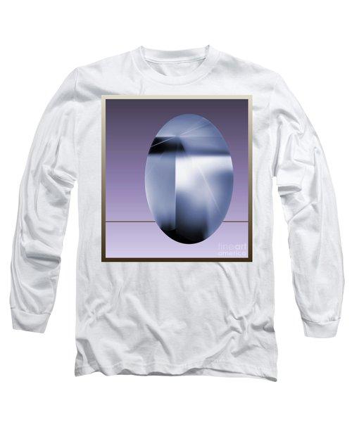 Long Sleeve T-Shirt featuring the digital art 2007-2 2017 by John Krakora