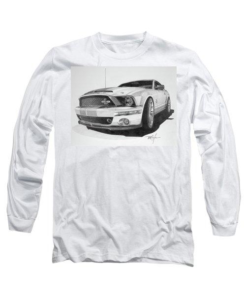 2008 Shelby Cobra 40th Anniversary 1968-2008 Long Sleeve T-Shirt