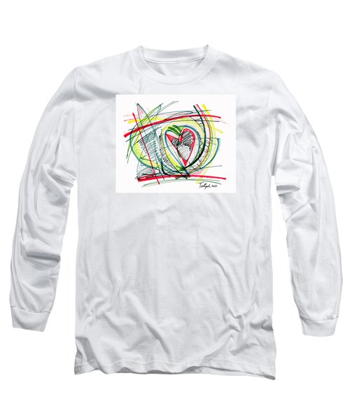 2010 Abstract Drawing Eighteen Long Sleeve T-Shirt
