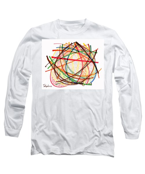 2010 Abstract Drawing Fifteen Long Sleeve T-Shirt by Lynne Taetzsch