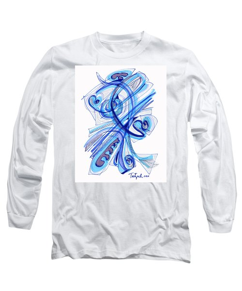 2010 Drawing Four Long Sleeve T-Shirt by Lynne Taetzsch