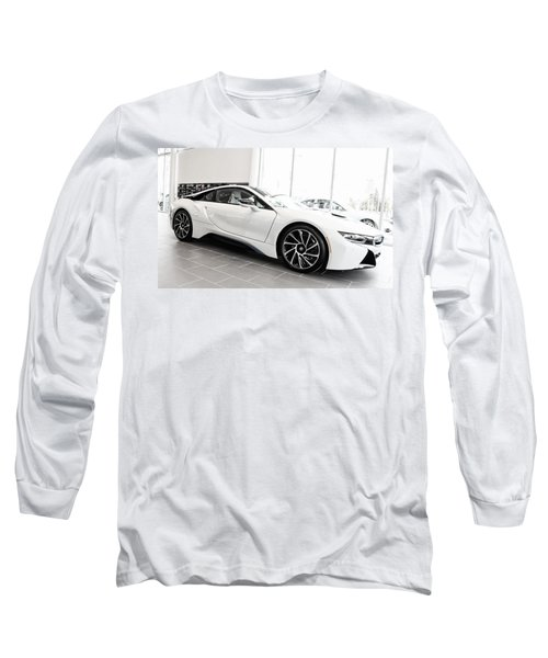 Long Sleeve T-Shirt featuring the photograph 2014 Bmw E Drive I8 by Aaron Berg