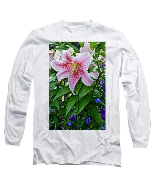 2015 Summer At The Garden Event Garden Lily 3 Long Sleeve T-Shirt