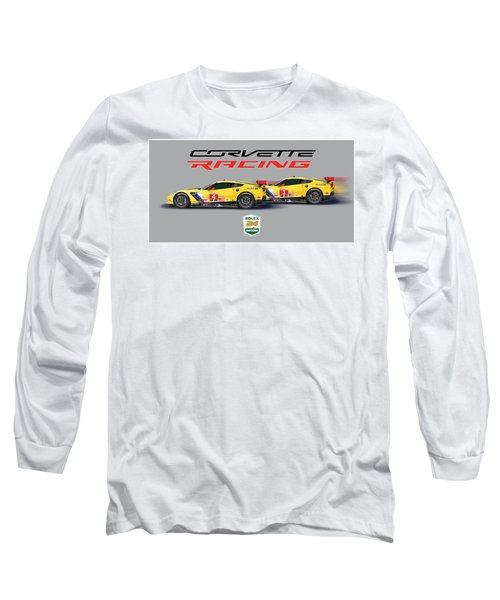 2016 Daytona 24 Hour Corvette Poster Long Sleeve T-Shirt