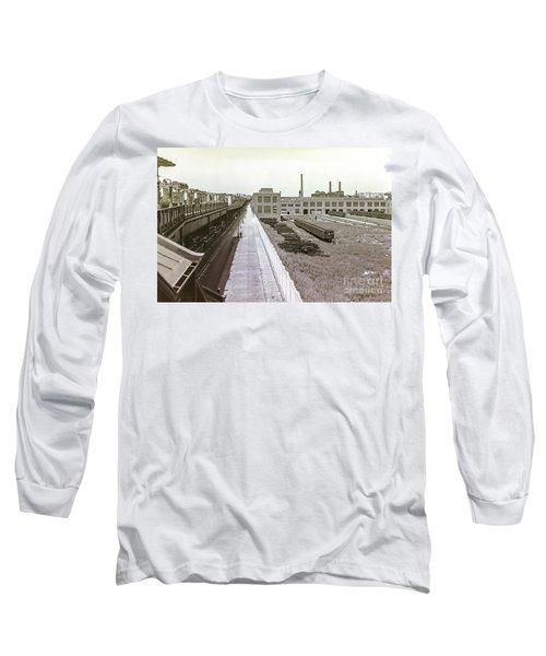 207th Street Subway Yards Long Sleeve T-Shirt