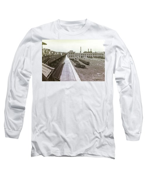 207th Street Subway Yards Long Sleeve T-Shirt