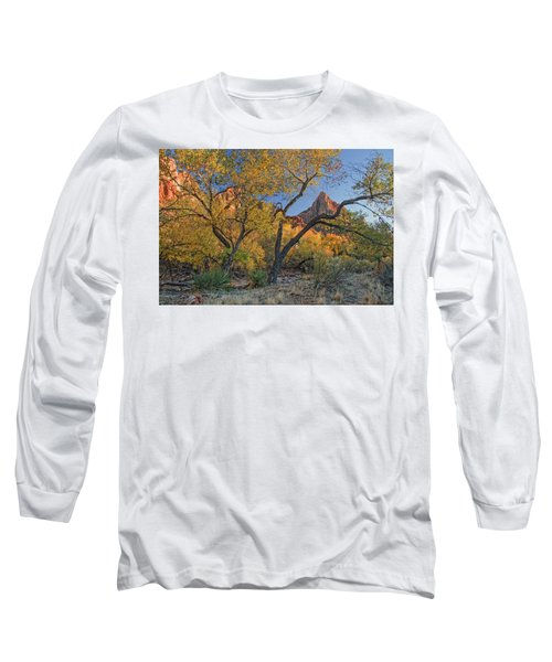 Zion National Park Long Sleeve T-Shirt by Utah Images