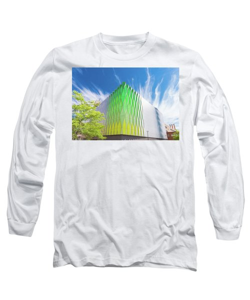 Modern Architecture Long Sleeve T-Shirt by Hans Engbers