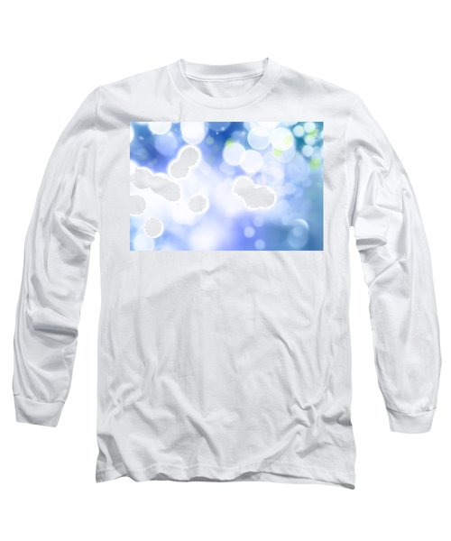 Abstract Circles 45 Long Sleeve T-Shirt
