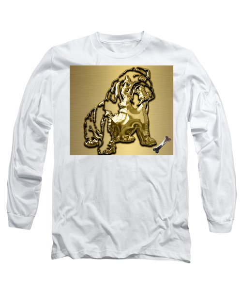 English Bulldog Collection Long Sleeve T-Shirt by Marvin Blaine