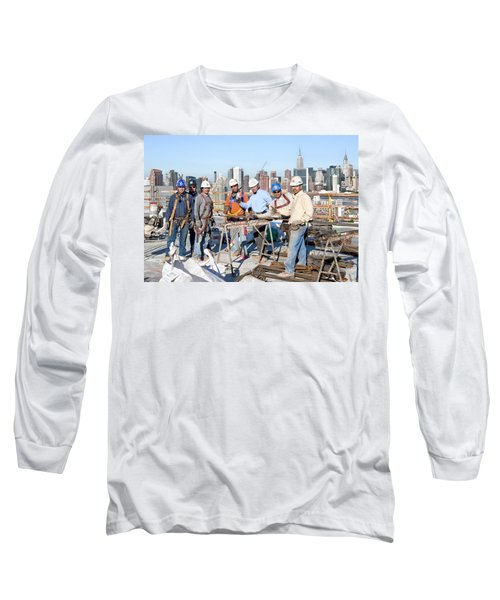 27th Street Lic 4 Long Sleeve T-Shirt by Steve Sahm