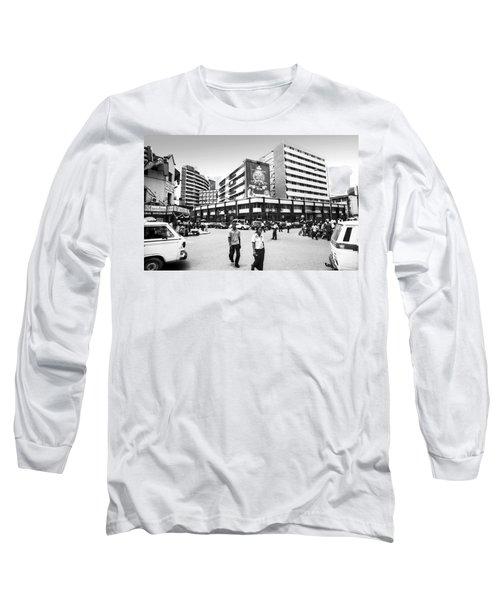 Cms, Odunlami Street Long Sleeve T-Shirt