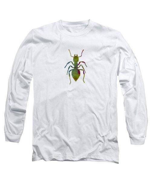 Ant Long Sleeve T-Shirt by Mordax Furittus