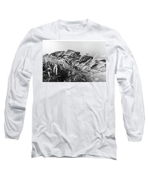 Cliffs At Kullaberg Long Sleeve T-Shirt