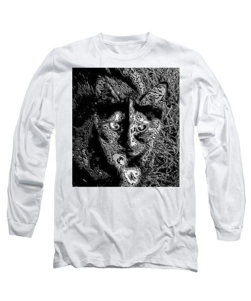 Coconut The Cat Long Sleeve T-Shirt