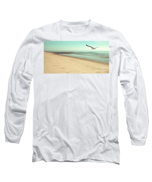 Long Sleeve T-Shirt featuring the photograph Desire Light Vintage by Hannes Cmarits
