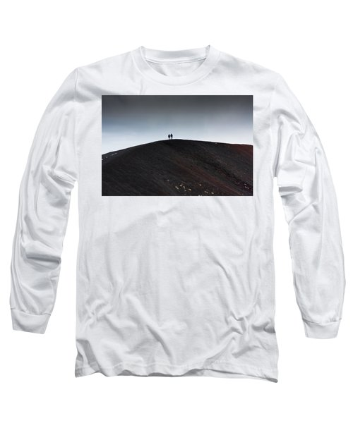 Etna, The Volcano Long Sleeve T-Shirt