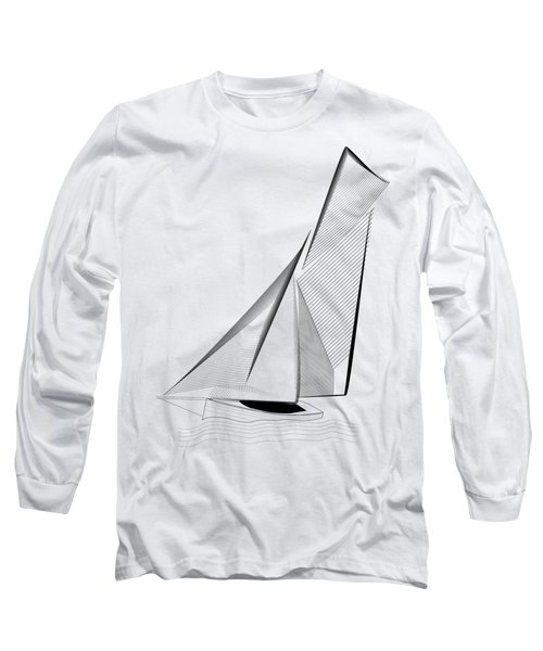 Falmouth Oyster Boat Long Sleeve T-Shirt