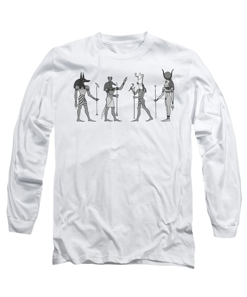 Gods Of Ancient Egypt Long Sleeve T-Shirt
