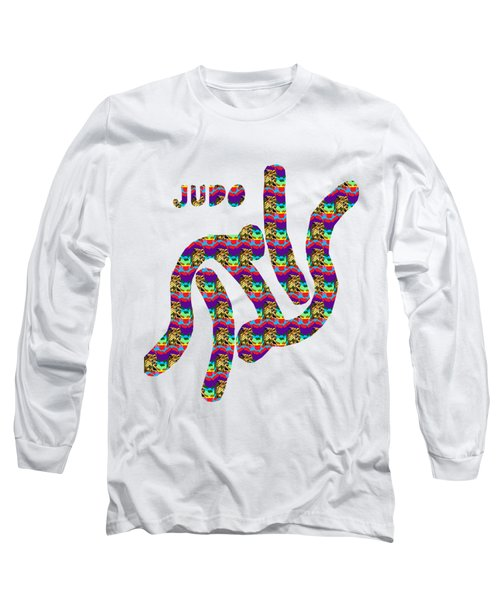 Judo Fineart Caricature Symbol Game Sports Competition Champion Artwork By Navinjoshi At Fineartamer Long Sleeve T-Shirt