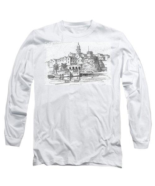 Korcula Croatia Long Sleeve T-Shirt