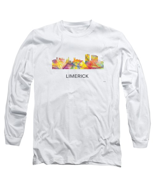 Limerick Ireland Skyline Long Sleeve T-Shirt