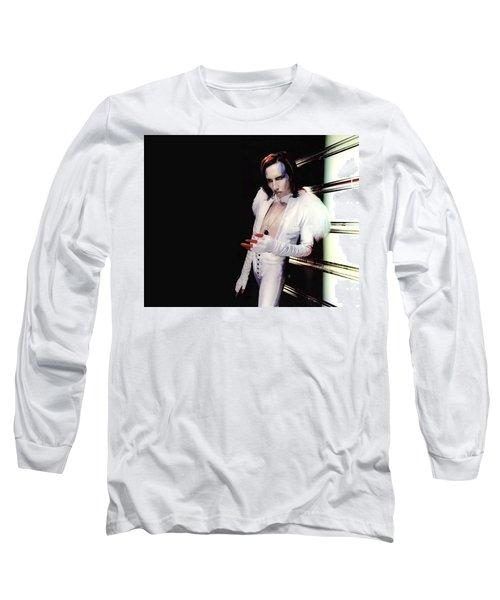 Marilyn Manson Long Sleeve T-Shirt