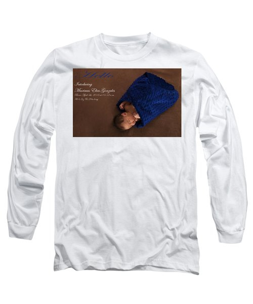 Max Long Sleeve T-Shirt by Marlo Horne