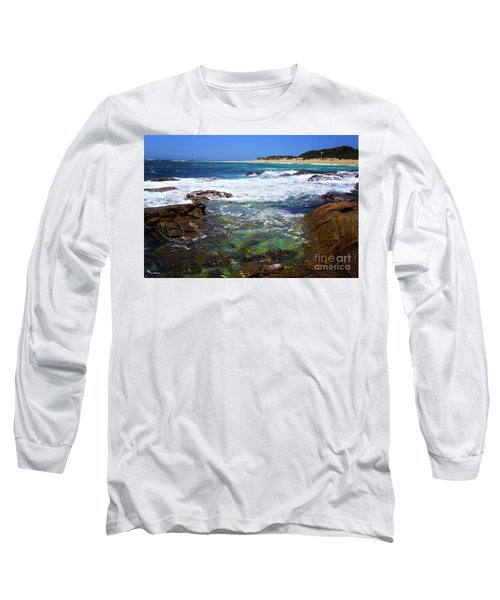 Mouth Of Margaret River Beach II Long Sleeve T-Shirt