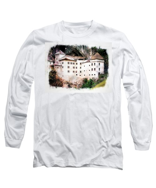 Predjama Castle, Predjama Slovenia Long Sleeve T-Shirt