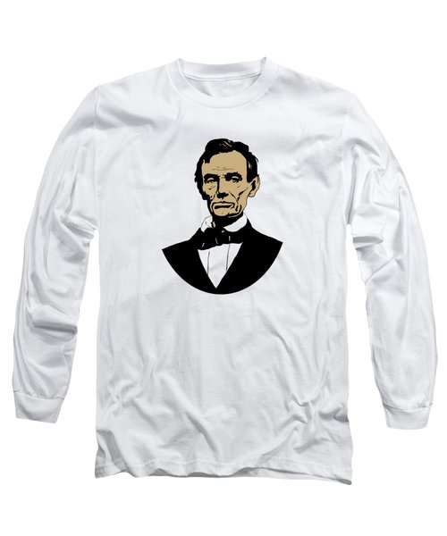 President Lincoln Long Sleeve T-Shirt by War Is Hell Store
