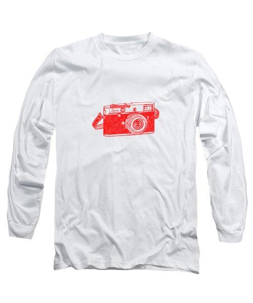 Rangefinder Camera Long Sleeve T-Shirt