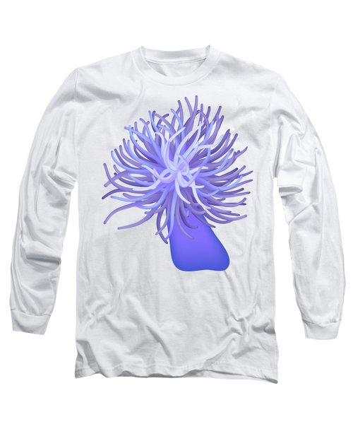 Sea Anemone Long Sleeve T-Shirt by Michal Boubin