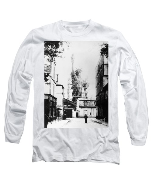Statue Of Liberty, Paris Long Sleeve T-Shirt
