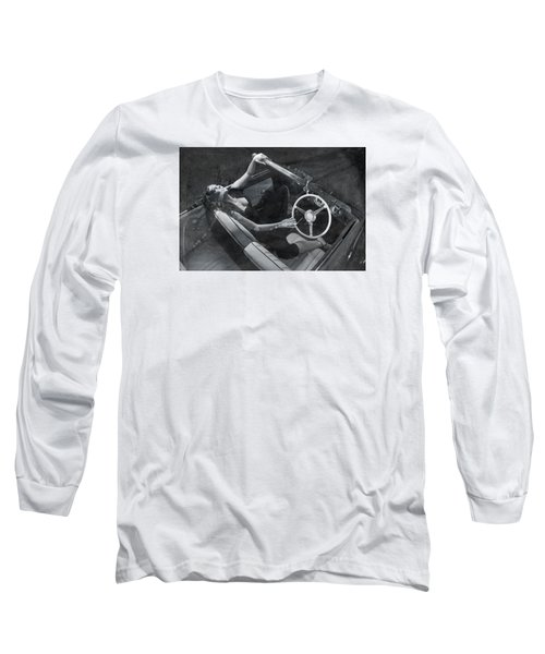 Long Sleeve T-Shirt featuring the photograph  Girl #3253  by Andrey  Godyaykin